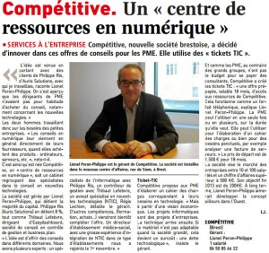 "Competitive Brest Gesellschaft: Ein ""digitaler Ressourcen-Center"""