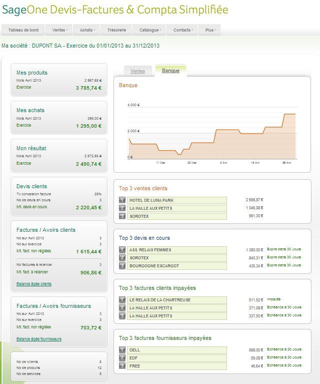 Sage lance (enfin !) une solution comptable en mode SaaS
